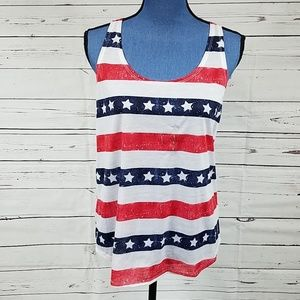 Get ready for July 4th Tank Top